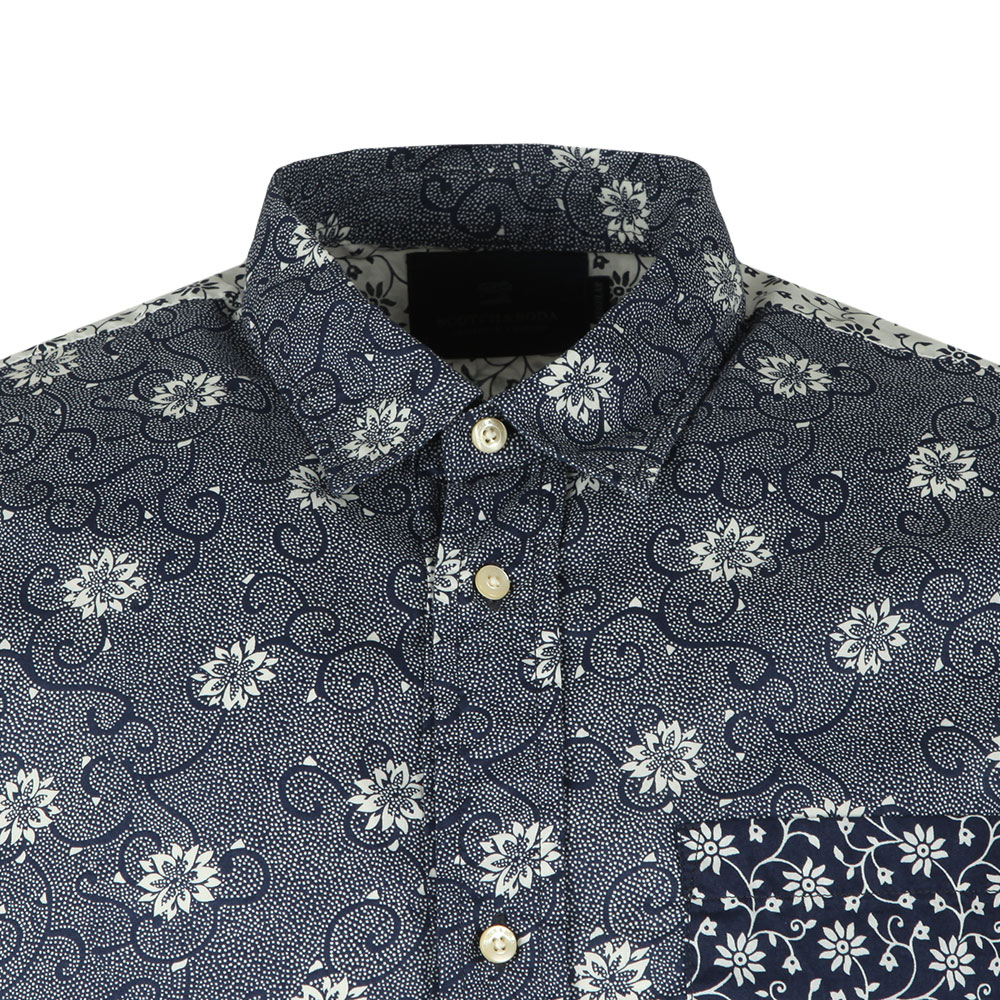 Short  Sleeve Patterned Shirt main image