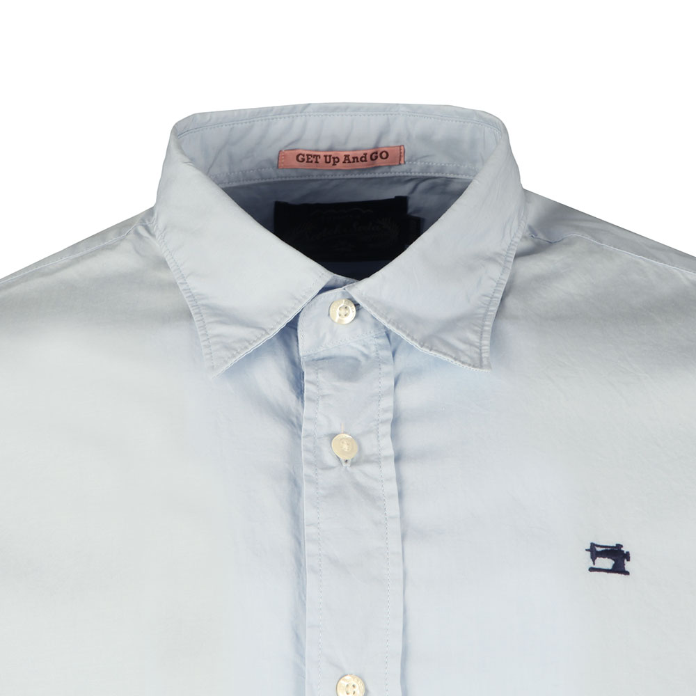 Relaxed Fit Poplin Shirt main image