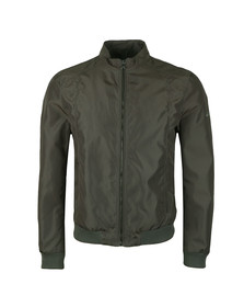 Matchless Mens Green Shawn Bomber