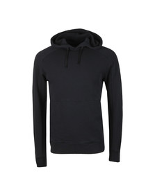 J.Lindeberg Mens Black Throw Hood Ring Loop Sweat
