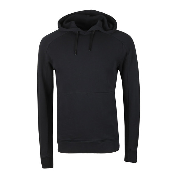 J.Lindeberg Mens Black Throw Hood Ring Loop Sweat main image