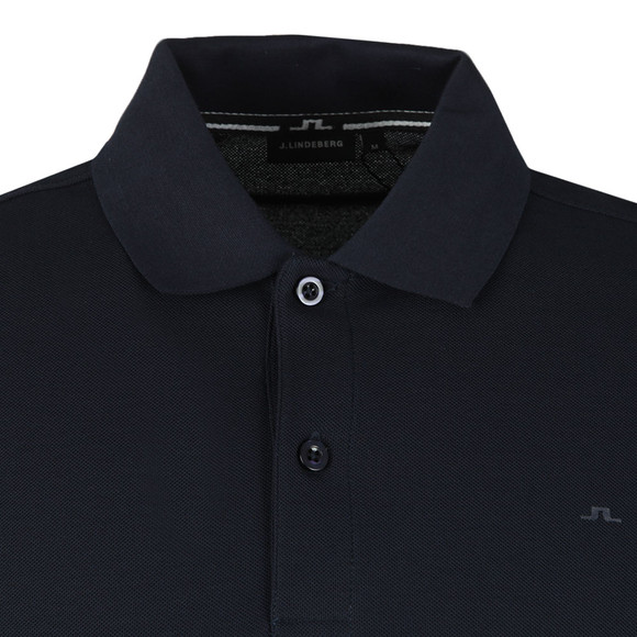 J.Lindeberg Mens Blue Troy Clean Pique Polo Shirt main image