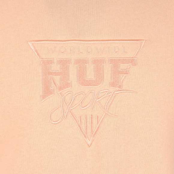 HUF Mens Pink Sport Fleece Sweatshirt main image