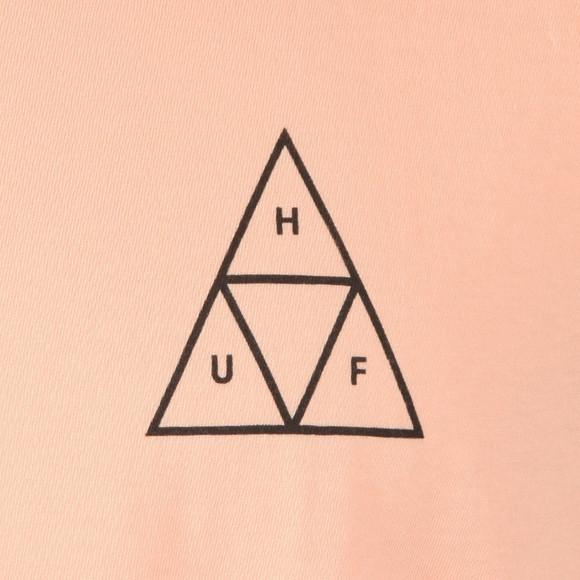 HUF Mens Pink Sk8 Rat TT T Shirt main image