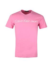 Calvin Klein Jeans Mens Pink S/S Treasure Tee