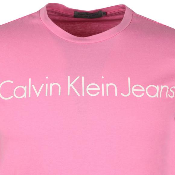 Calvin Klein Jeans Mens Pink S/S Treasure Tee main image