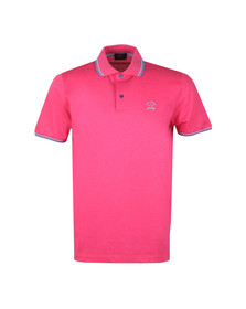 Paul & Shark Mens Pink Tipped Polo Shirt