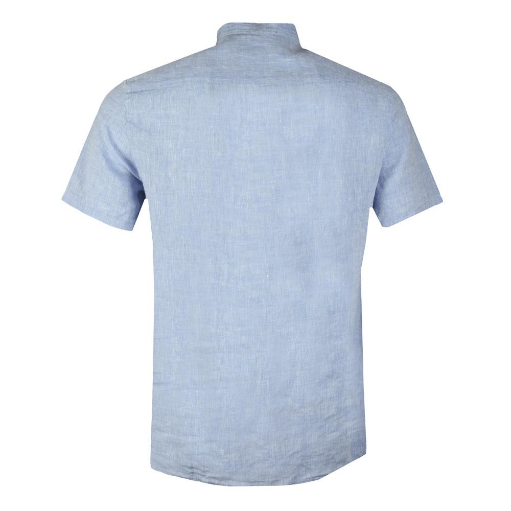 Daniel Linen Melange Short Sleeve Shirt main image
