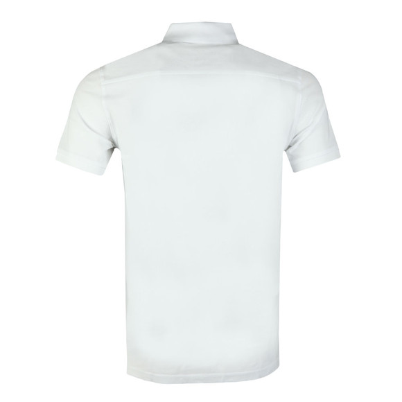 J.Lindeberg Mens White Troy Clean Pique Polo Shirt main image