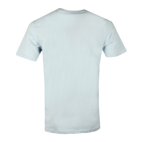 Nicce Mens Blue S/S Rubberised Logo Tee main image
