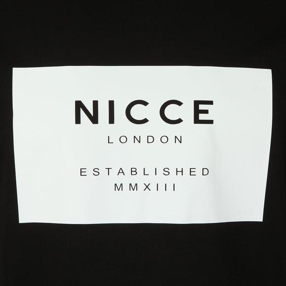 Nicce Mens Black S/S Box Logo Tee main image