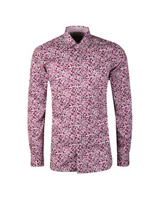 Ted Baker Mens Pink  Bangla Floral Endurance Shirt