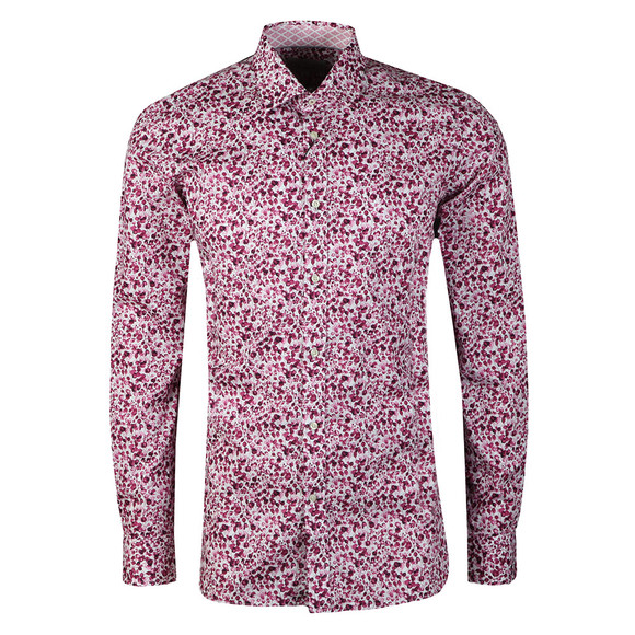 Ted Baker Mens Pink  Bangla Floral Endurance Shirt main image