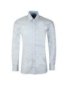 Ted Baker Mens Blue Hooch Box Texture Endurance Shirt