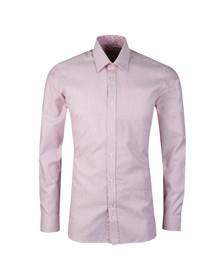 Ted Baker Mens Pink Hooch Box Texture Endurance Shirt