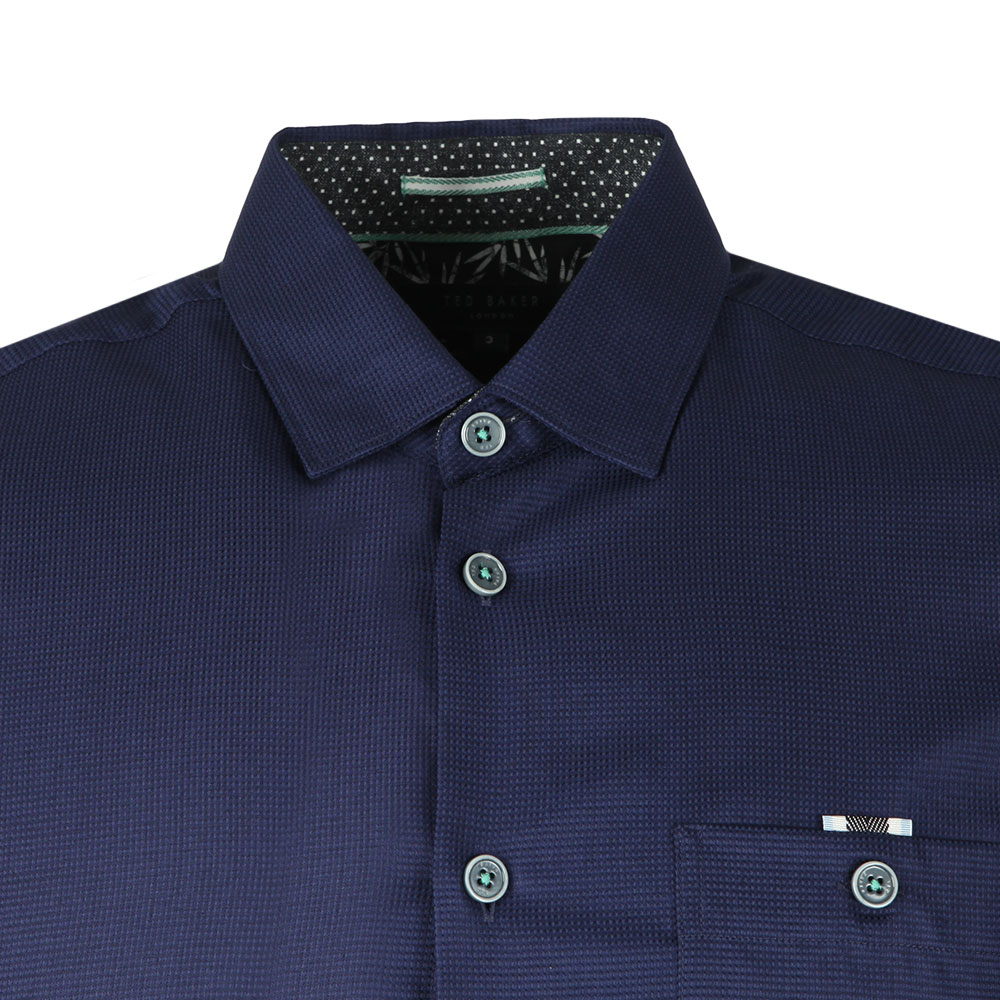 SS Waffle Weave Bowling Shirt main image