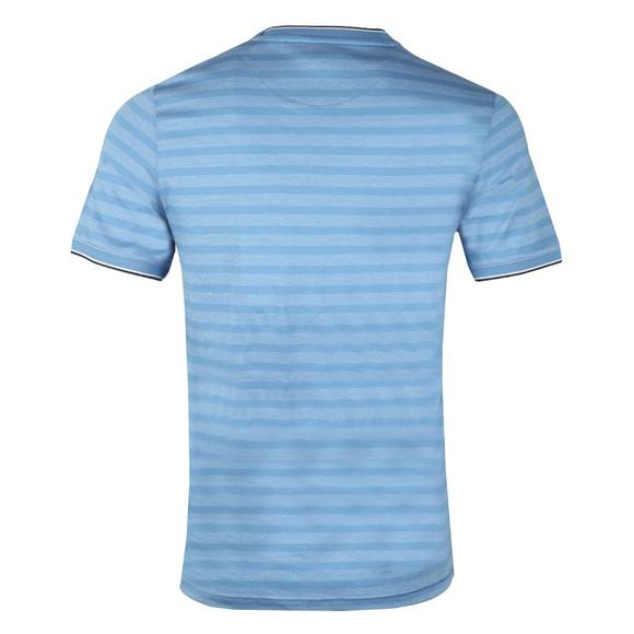 Ted Baker Mens Blue S/S Birdseye Stripe Tee main image