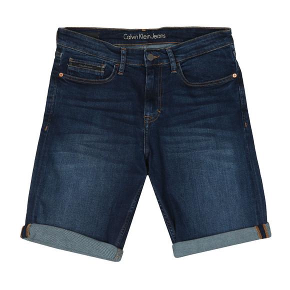 Calvin Klein Jeans Mens Blue Slim Denim Shorts main image