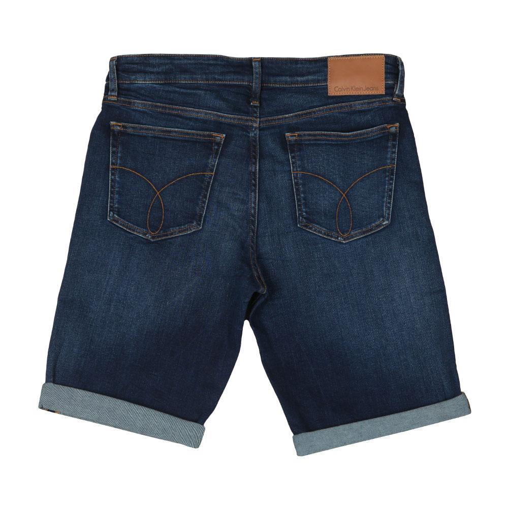 Slim Denim Shorts main image