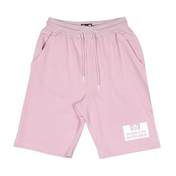 Weekend Offender Mens Pink Action Short main image