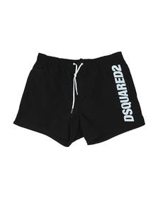 Dsquared2 Mens Black Logo Swim Short