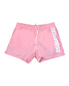 Dsquared2 Mens Pink Logo Swim Short