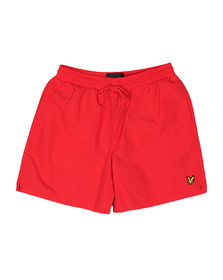 Lyle and Scott Mens Red Swim Short