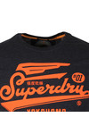 Superdry Mens Blue High Flyers Lite Tee