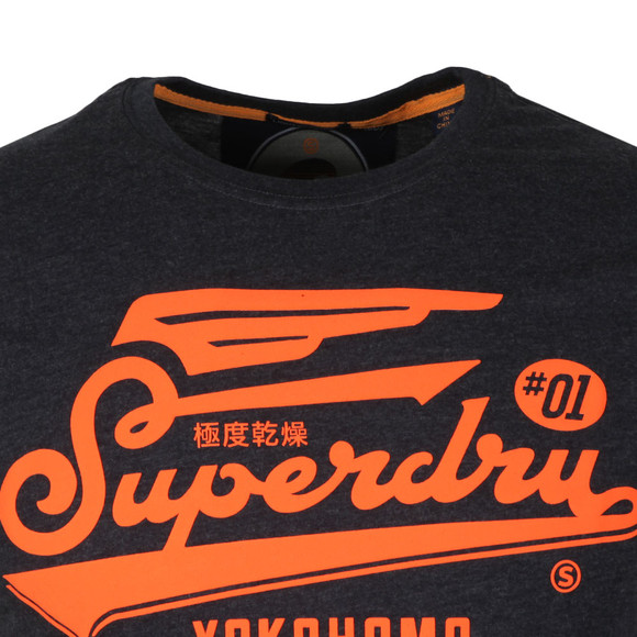 Superdry Mens Blue High Flyers Lite Tee main image