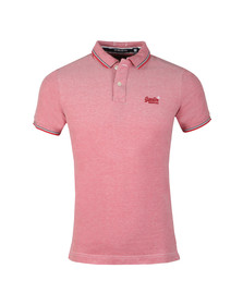 Superdry Mens Red S/S Poolside Polo