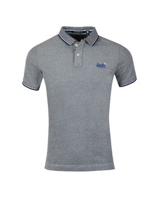 Superdry Mens Blue S/S Poolside Polo
