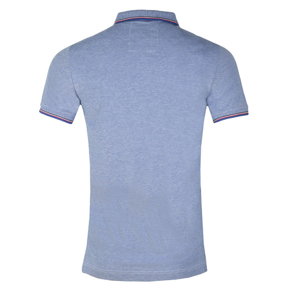 Superdry Mens Blue S/S Poolside Polo main image