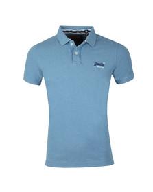 Superdry Mens Blue Classic Pique Polo