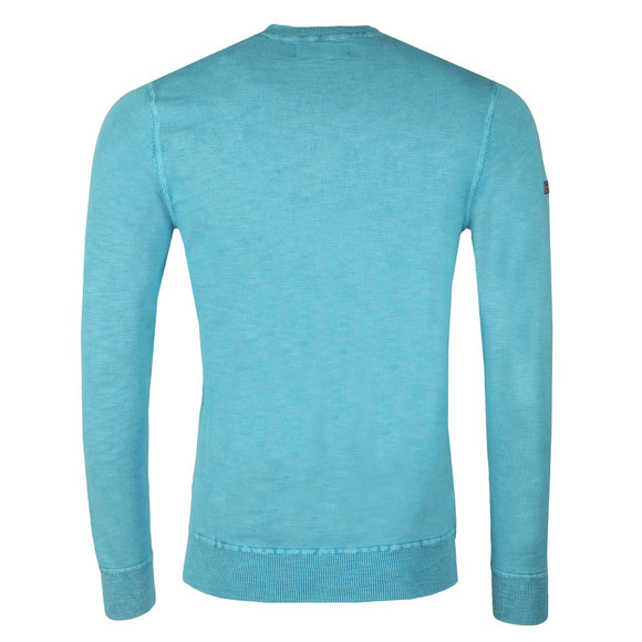 Superdry Mens Blue Garment Dye L.A. Crew Sweat main image
