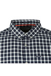 Superdry Mens Blue Ult L/S Check Shirt