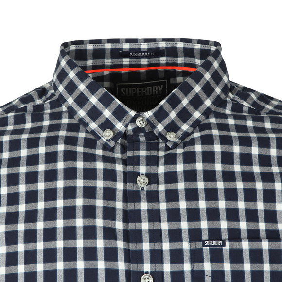 Superdry Mens Blue Ult L/S Check Shirt main image