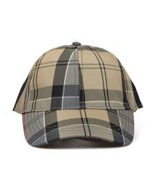 Barbour Lifestyle Mens Beige Tarset Tartan cap