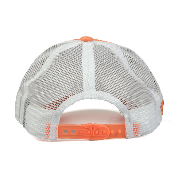 Twinzz Mens Orange Mesh Trucker Cap main image