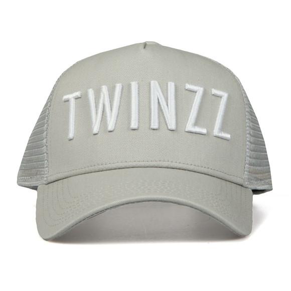 Twinzz Mens Grey Mesh Trucker Cap main image