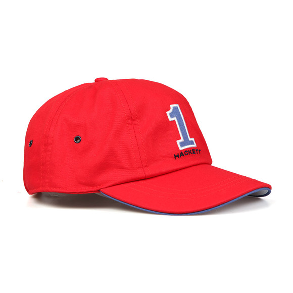 Hackett Mens Red Number Baseball Cap main image