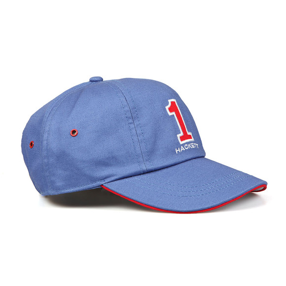 Hackett Mens Blue Number Baseball Cap main image