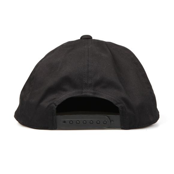 EA7 Emporio Armani Mens Black Large Logo Snapback main image