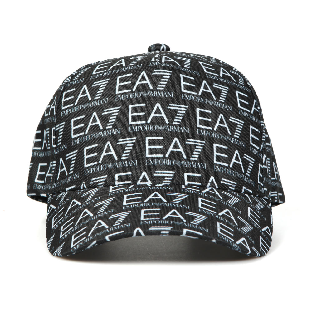 50e2cfae0 EA7 Emporio Armani Train Monogram Cap | Oxygen Clothing