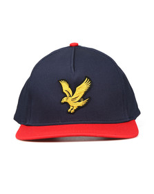 Lyle and Scott Mens Blue Colour Block Cap