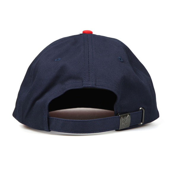Lyle and Scott Mens Blue Colour Block Cap main image
