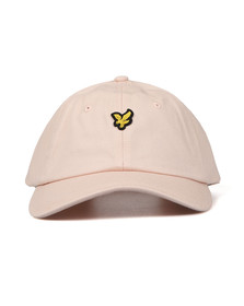 Lyle and Scott Mens Pink Baseball Cap