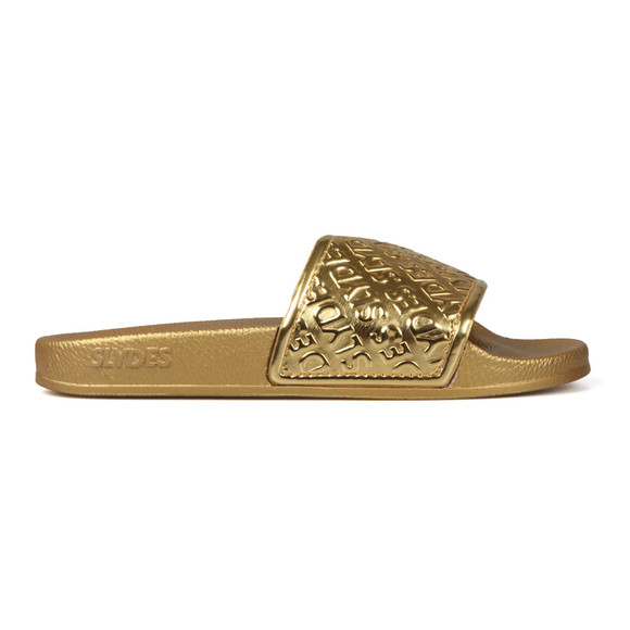 Slydes Womens Gold Chance Slides main image