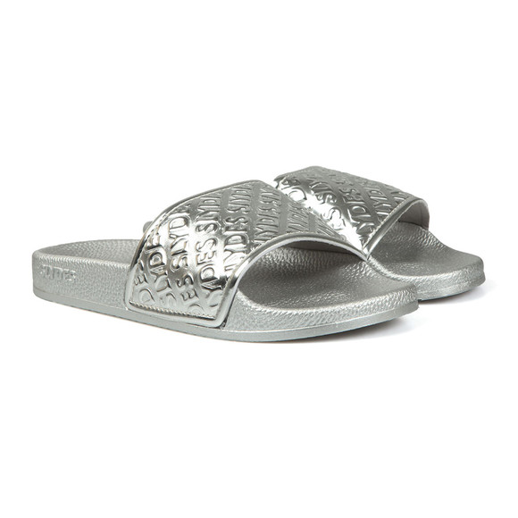 Slydes Womens Silver Chance Slides main image