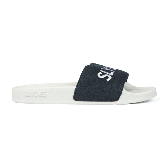 Slydes Mens White Plya Slides main image