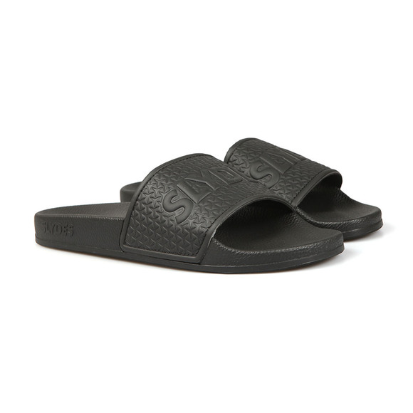 Slydes Mens Black Cali Slides main image